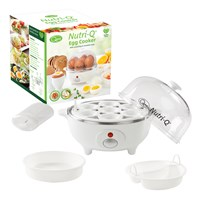 Nutri-Q Multi Egg Cooker - White