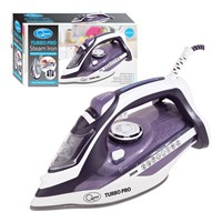 3000w Double Ceramic LED Steam Iron - Auto-Off