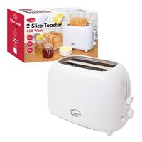 2-Slice Toaster - White