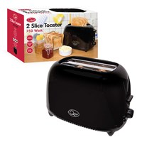 2-Slice Toaster - Black