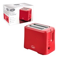 2-Slice Toaster - Red