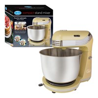 Compact Stand Mixer - 6 Speed - Cream