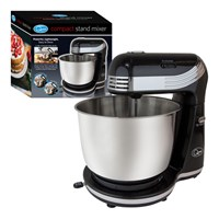Compact Stand Mixer - 6 Speed - Black