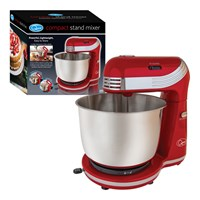 Compact Stand Mixer - 6 Speed - Red