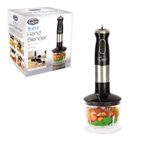 3 in 1 Stick Blender - Black/Silver