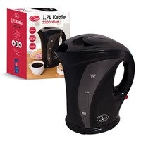 1.7 Ltr Jug Kettle Black-2200W