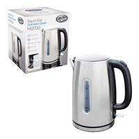 Rapid Boil Full Stainless Steel Kettle 1.7L