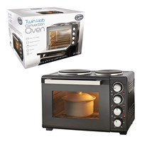 26 Litre Twin Hob Convection Oven