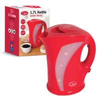 1.7 Ltr Jug Kettle Red-2200W