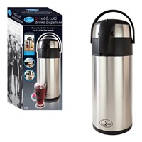 5 Litre Stainless Steel Hot & Cold Drink Dispenser