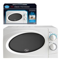 20L Microwave - White