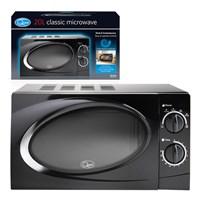 20L Microwave - Black