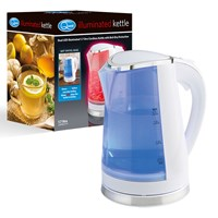 Dual LED Illuminated Kettle - 1.7Ltr White