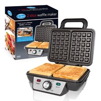2-Slice Stainless Steel Waffle Maker