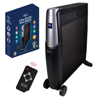 Silentnight 2.5Kw Digital Mica Heater with Remote