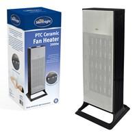 Silentnight Tower PTC Ceramic Heater - 2000w