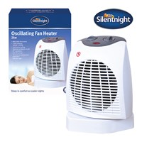 Silentnight 2Kw 90° Oscillating Fan Heater