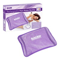 Bauer Rechargeable Electric Hot Water Bottle-Lilac