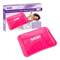 Bauer Rechargeable Electric Hot Water Bottle-Pink