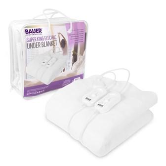 Bauer Electric Under Blanket Superking - 150x200cm