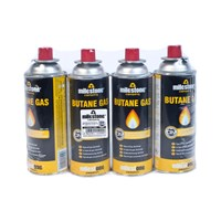4 Pack Butane Gas Canisters