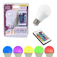 7.5W Remote Control Colour Changing Bulb ES