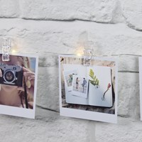 LED Photo Peg String Lights