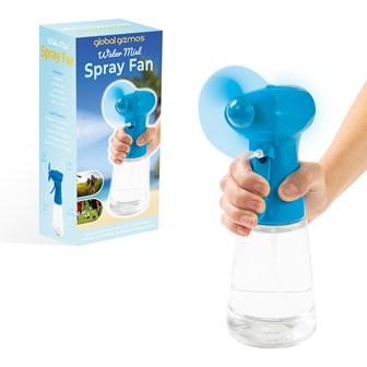 Handheld Water Mist Spray Fan - Blue