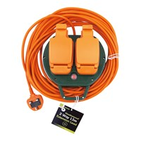 2 Way 15M Outdoor Extension Lead - 13A