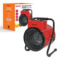 3000W Fan Heater - Red
