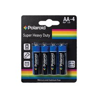 4Pk AA Polaroid Heavy Duty Battery