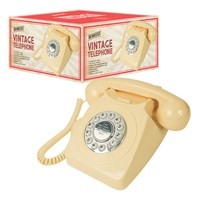 Retro Cream Telephone