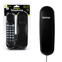 Slimtalk Telephone - Black