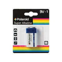 1Pc 9v Polaroid Alkaline Battery