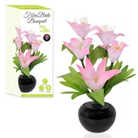 Fibre Optic Flower - Pink Lilies