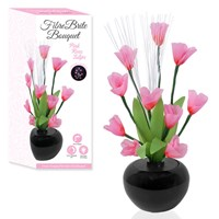 Fibre Optic Flower - Pink Rose Tulips