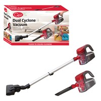 Handheld Dual Cyclone Vacuum Cleaner-Red