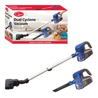 Handheld Dual Cyclone Vacuum Cleaner-Blue