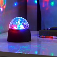 Crystal Starball Disco Light