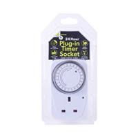 24-Hour Plug-In Timer Socket (Large)