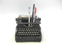 Vintage Typewriter Stationery Holder