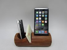Log Effect Phone And Pen Holder