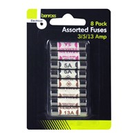 8pc Fuses Assorted
