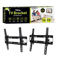"TV Bracket Holds 23""-55"" TV Screen"
