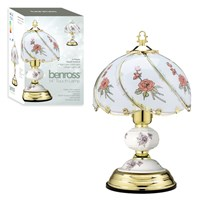 "14"" Touch Lamp - Red Rose"