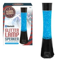 Bluetooth Speaker Glitter Lamp