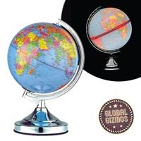"13"" Globe Touch Lamp-Chrome"