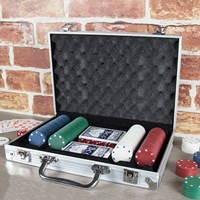 200pc Poker Set In Aluminium Case