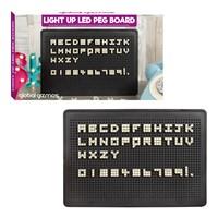 LED Light Up Pegboard