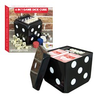 6 in 1 Game Dice Cube Set